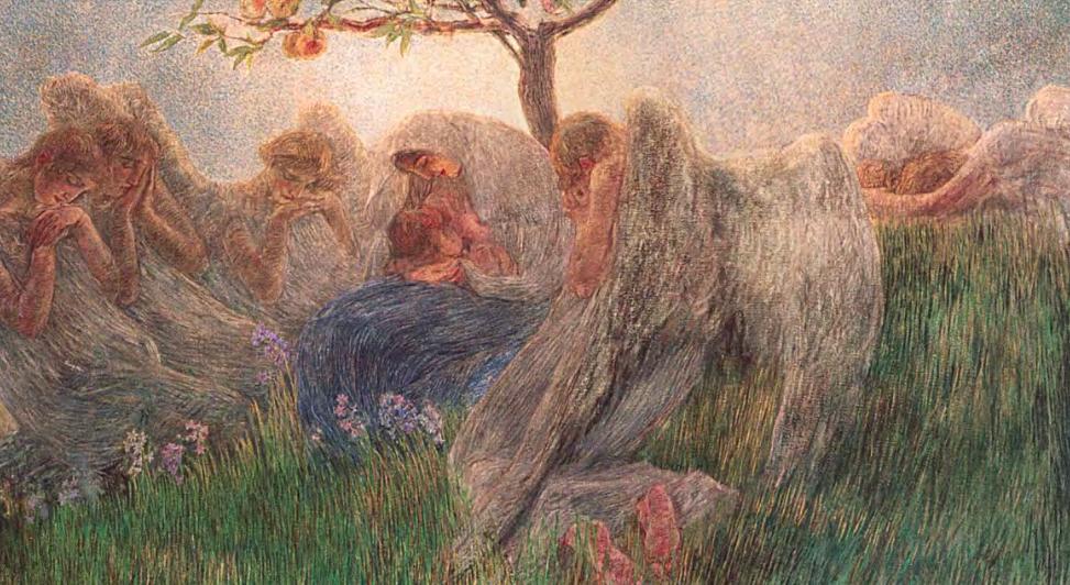 maternità pittura